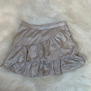 3/$20 Justice brand girls skirt with shorts 12